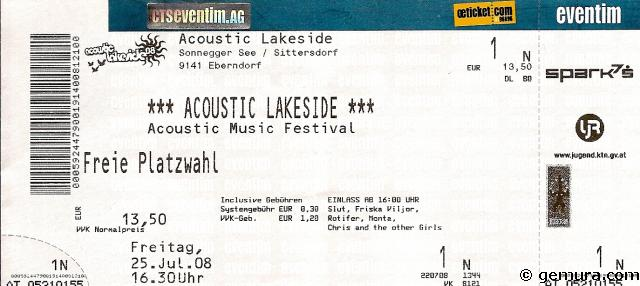 Lakeside Ticket