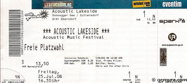 Lakeside Ticket